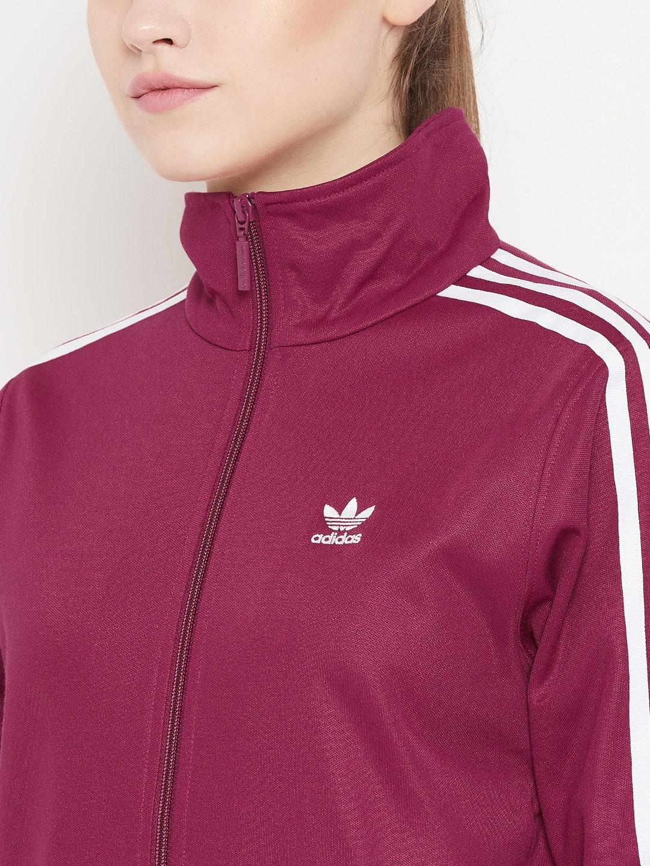 b2d56b6d3c5 Buy Adidas Originals Women Burgundy Contemp BB Track Jacket ...