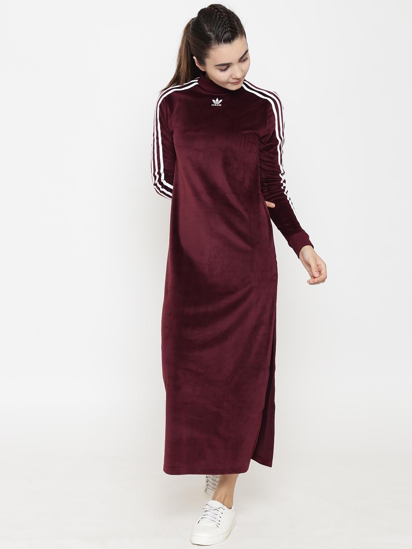 maxi adidas dress