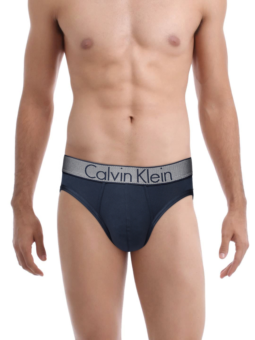 bd22f60d566b Calvin Klein Men Navy Blue Customized Stretch Hip Briefs NB12948SB