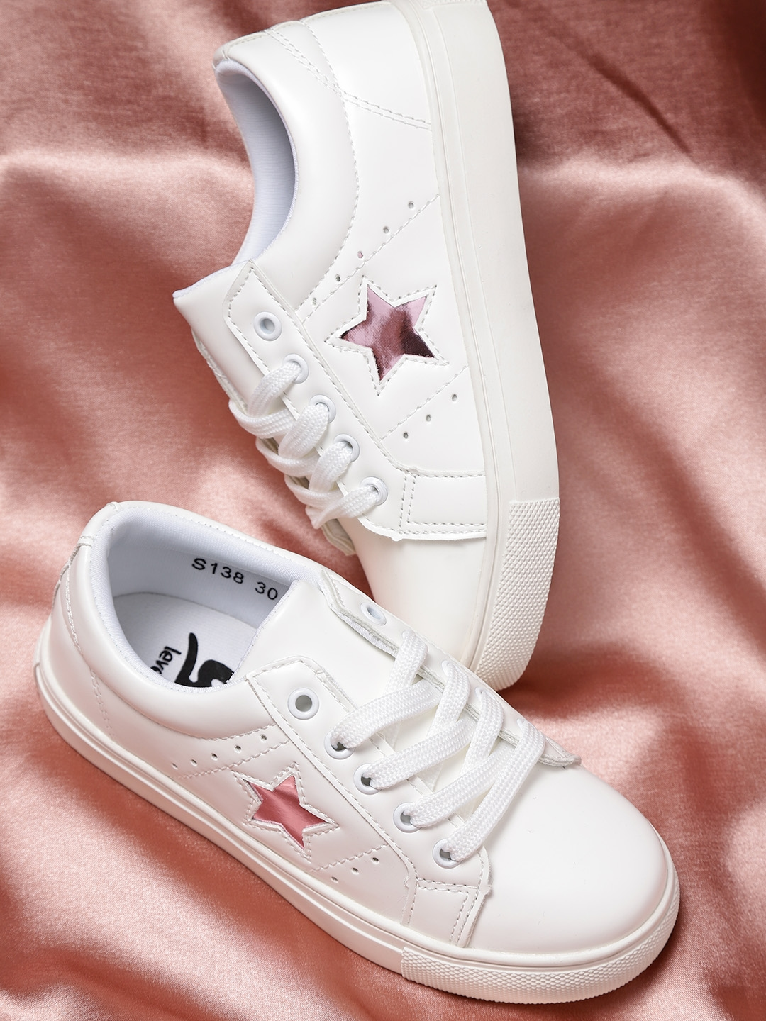 YK Girls White Sneakers - Casual Shoes