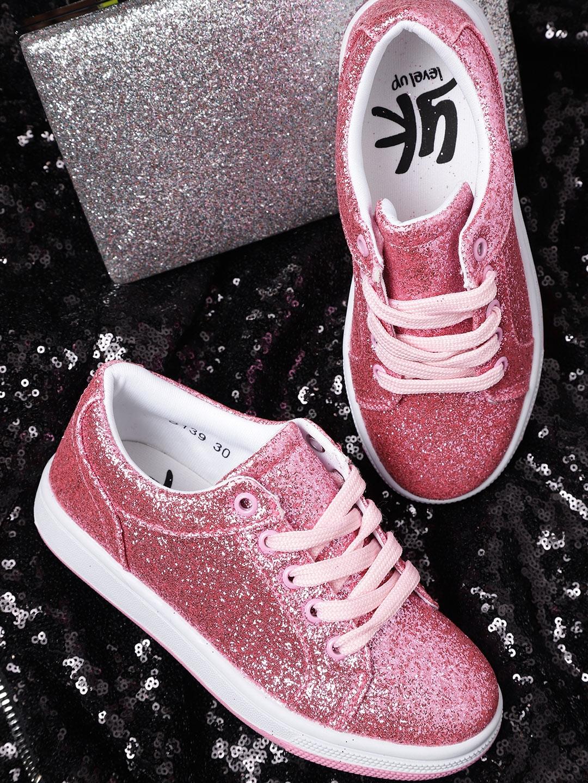 designer nuovo e usato dopo autentica di fabbrica Buy YK Girls Pink Sneakers - Casual Shoes for Girls 7373008   Myntra