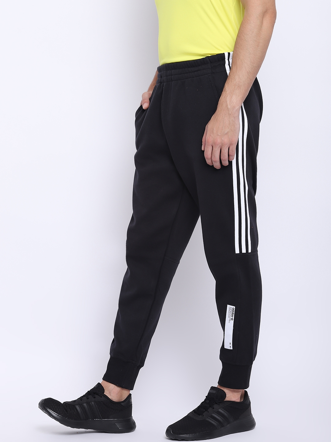 huge selection of 489c8 37d7d Buy ADIDAS Originals Men Black NMD Solid Joggers - Track Pants for ...