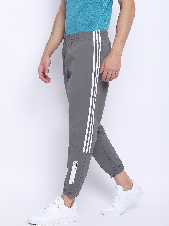 3791e9e91 Buy ADIDAS Originals Men Grey NMD Solid Joggers - Track Pants for ...