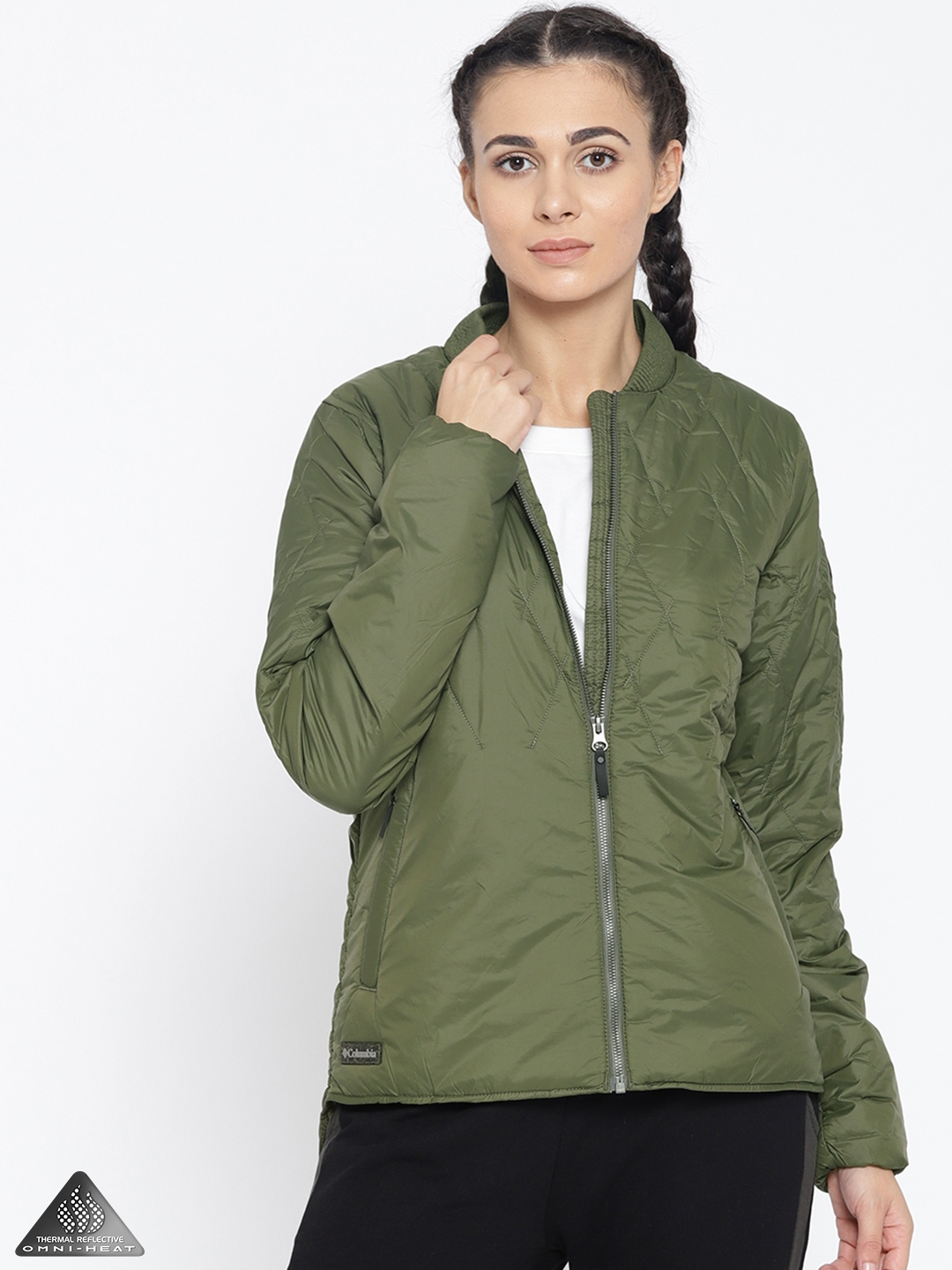 Olive Green Quilted Jacket Home Ideas
