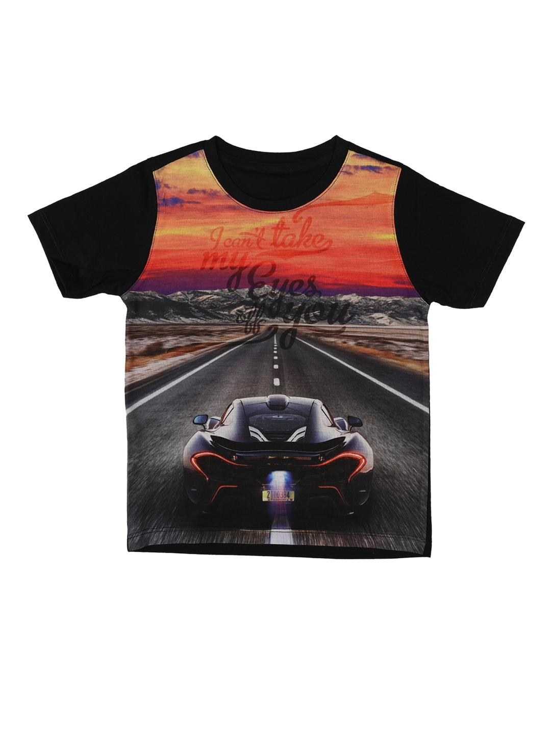 e4103f1d Buy Wear Your Mind Boys Multicoloured Printed Round Neck T Shirt ...