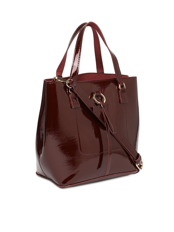 091de7c79ef Buy Accessorize Burgundy Solid Handheld Bag - Handbags for Women ...