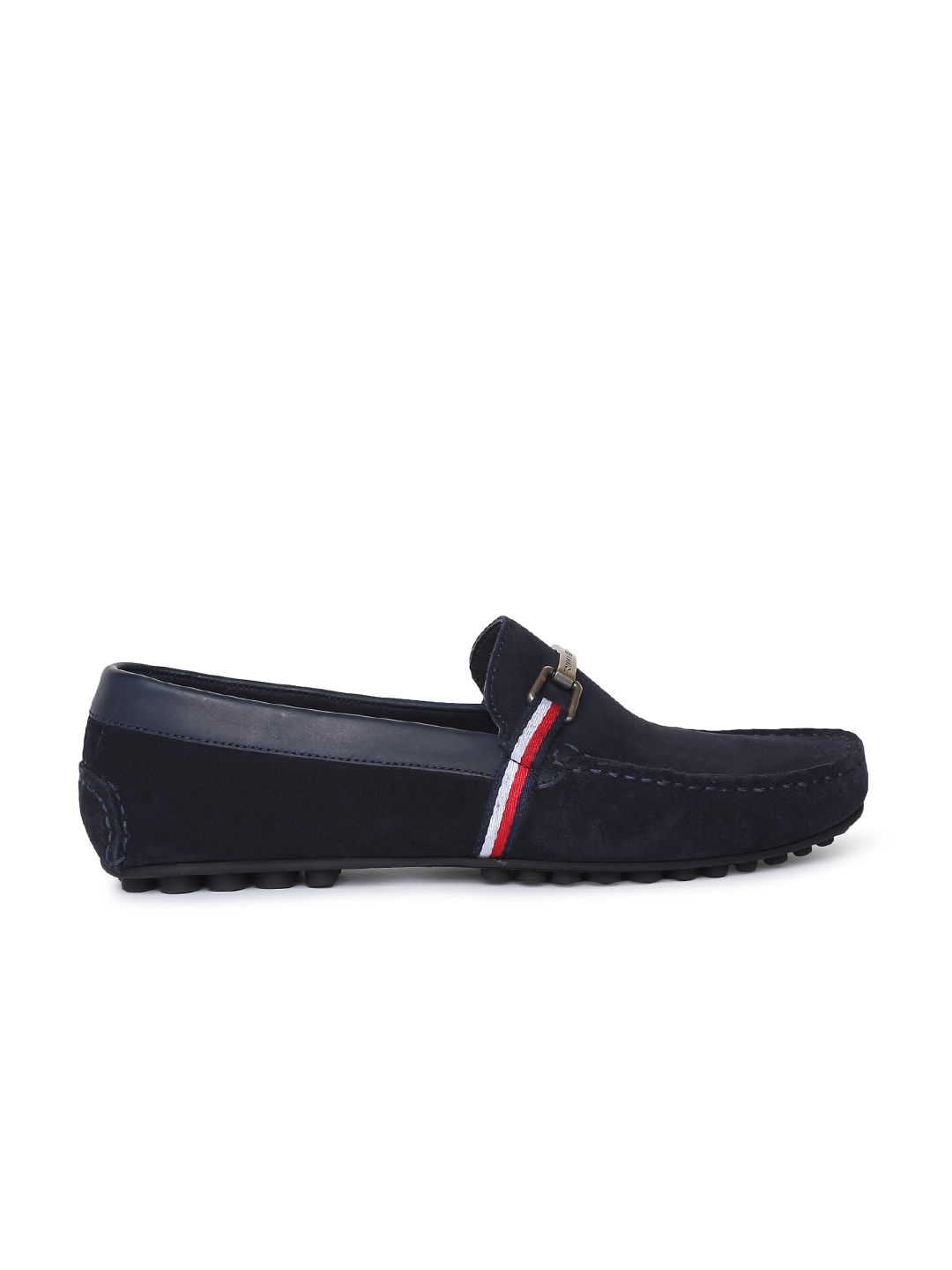 e11f1049b745 Buy Tommy Hilfiger Men Navy Blue Loafers - Casual Shoes for Men ...