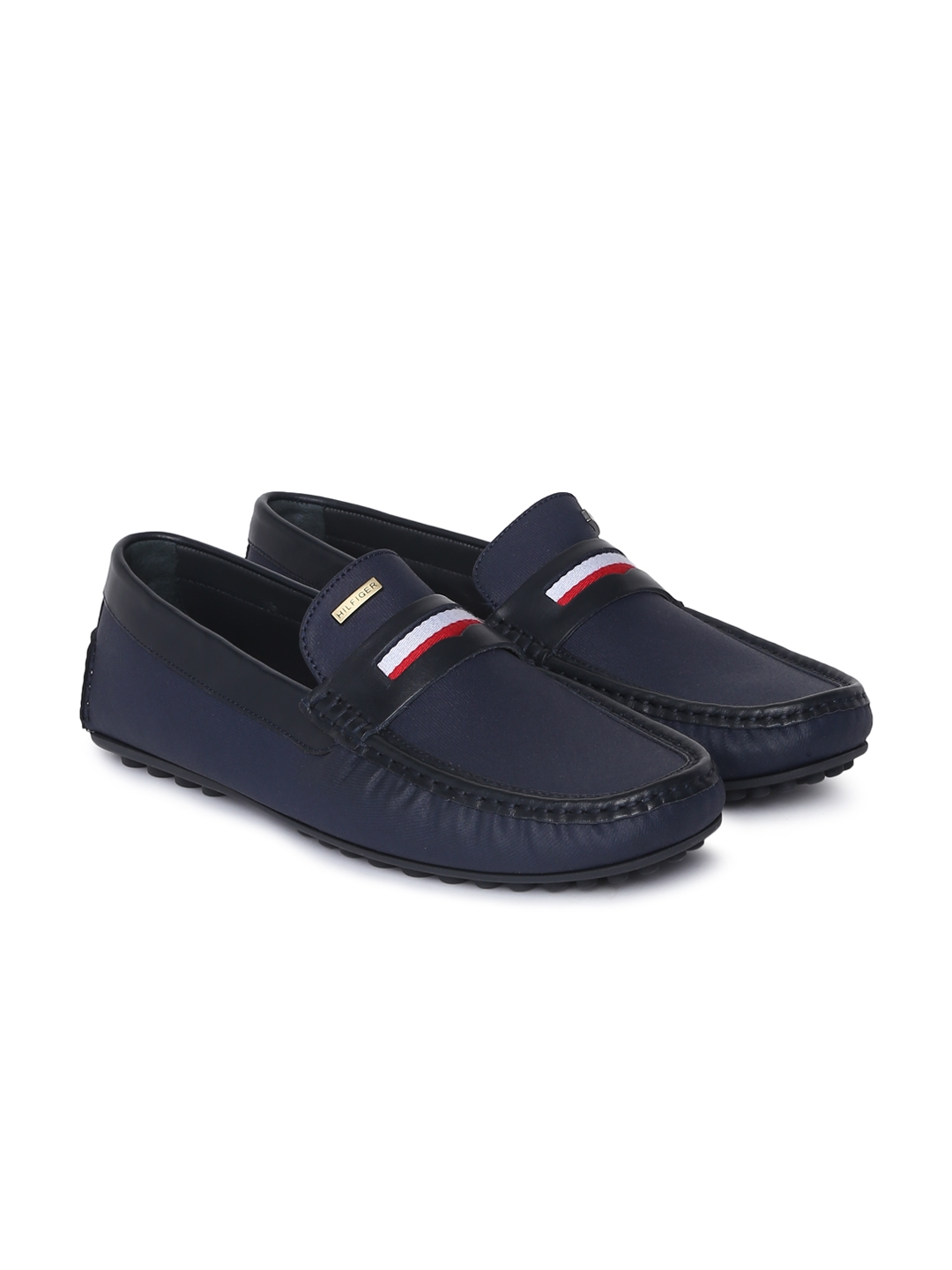 570e2ae0829fe Buy Tommy Hilfiger Men Navy Blue Loafers - Casual Shoes for Men ...