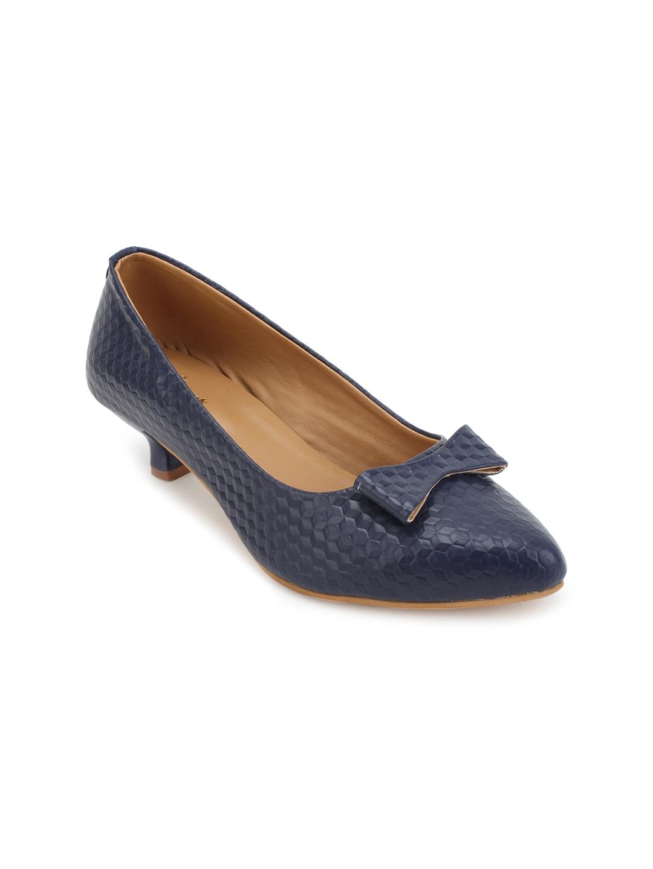 031ebf074244 Buy Lovely Chick Women Navy Blue Solid Pumps - Heels for Women ...