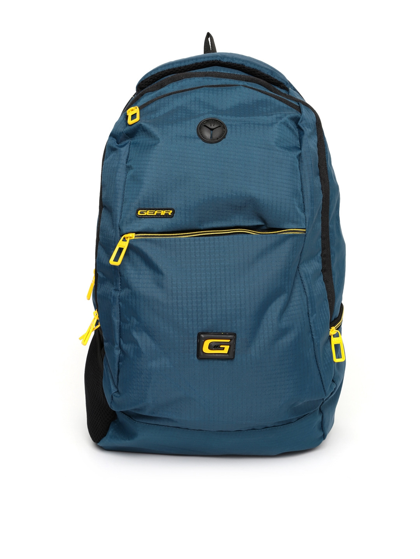 Buy Gear Unisex Teal Blue Space 4 Waterproof Backpack - Backpacks ... 35b11378b7