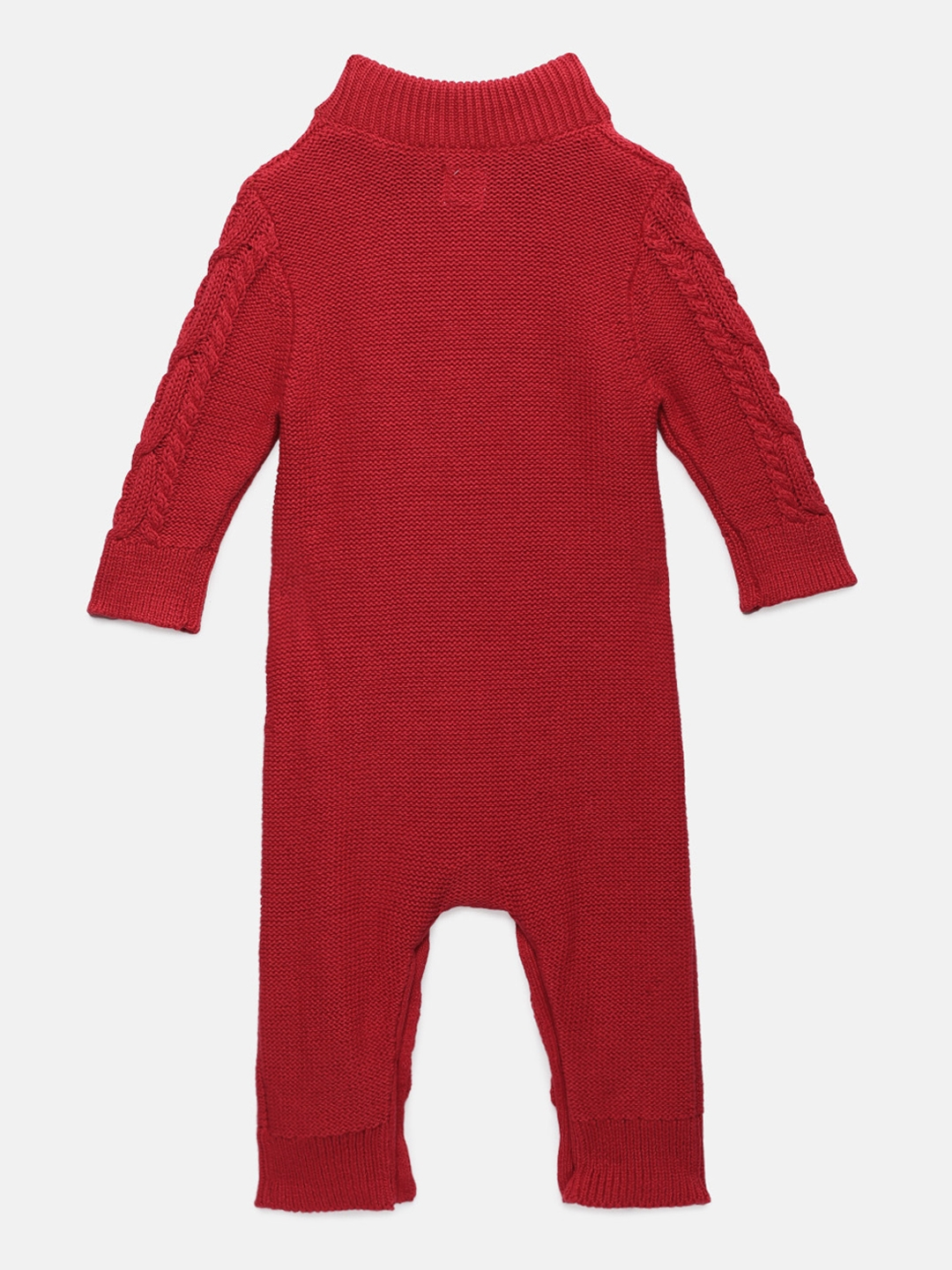 f2f5bfb8bf Buy GAP Baby Boys' Red Cable Knit One Piece - Rompers for Boys ...