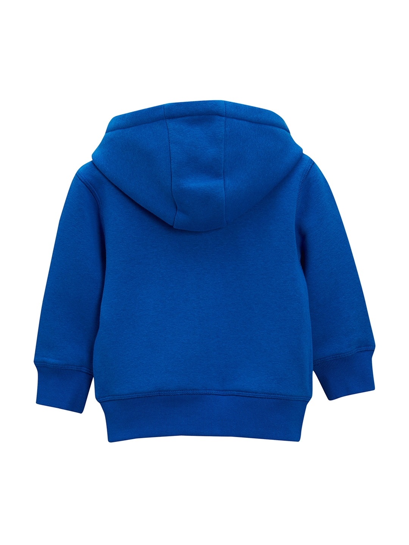 889625f42c Buy Next Boys Blue Solid Hooded Sweatshirt - Sweatshirts for Boys ...