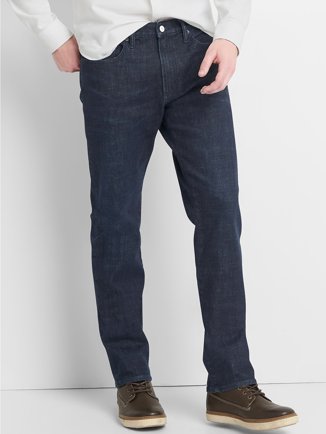 4c91fa4c179bf Buy GAP Men Blue Thermolite Slim Fit Jeans With GAP Menflex - Jeans ...