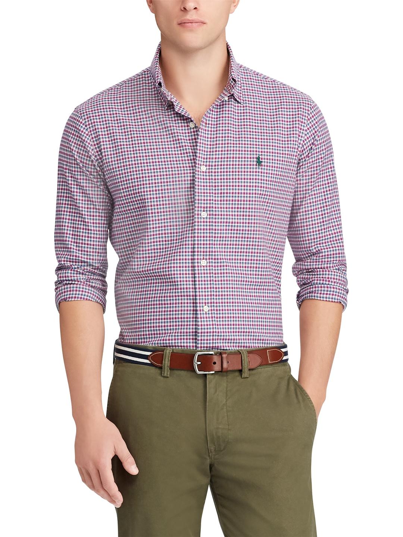 e6688511b1fc Buy Polo Ralph Lauren Classic Fit Plaid Twill Shirt - Shirts for Men ...