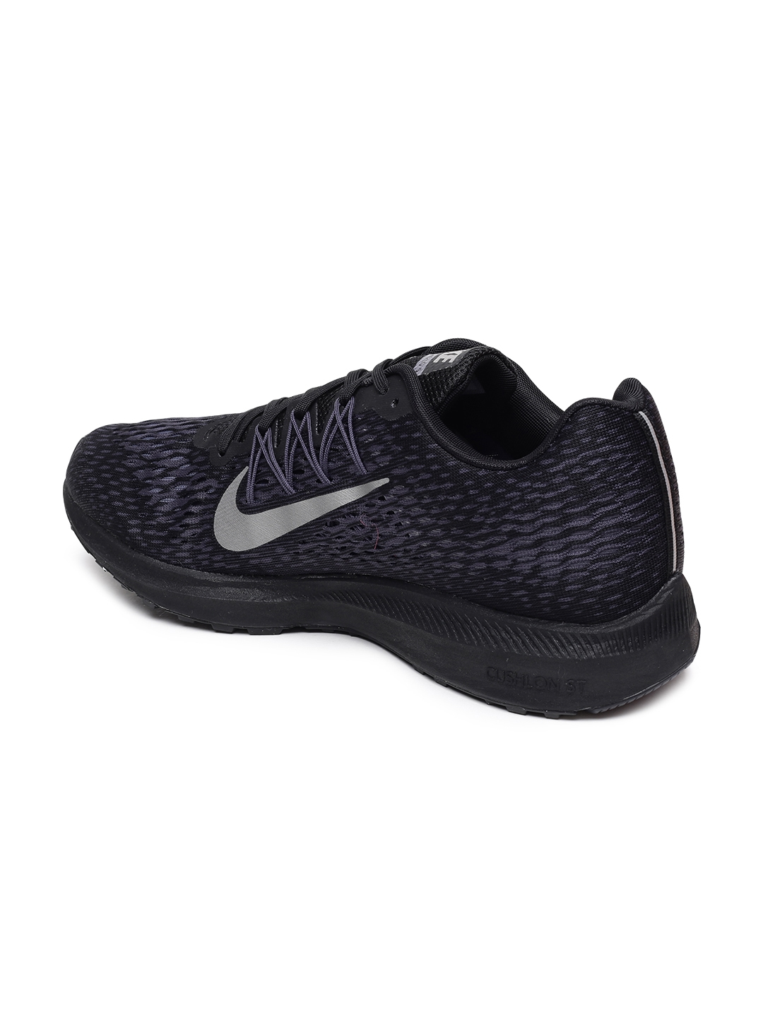 3cc73b30 Buy Nike Men Black Zoom Winflo 5 Running Shoes - Sports Shoes for ...