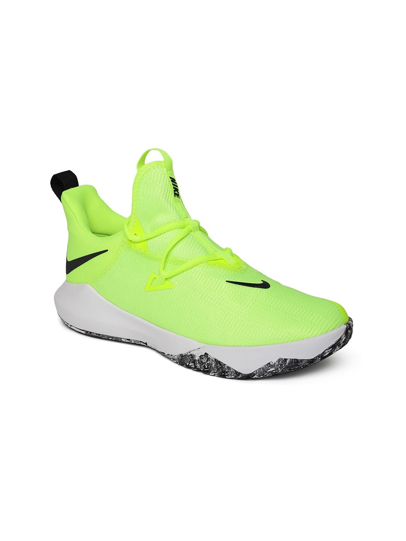 Min La Iglesia Escoger  Buy Nike Men Fluorescent Green ZOOM SHIFT 2 Basketball Shoes - Sports Shoes  for Men 7487540 | Myntra