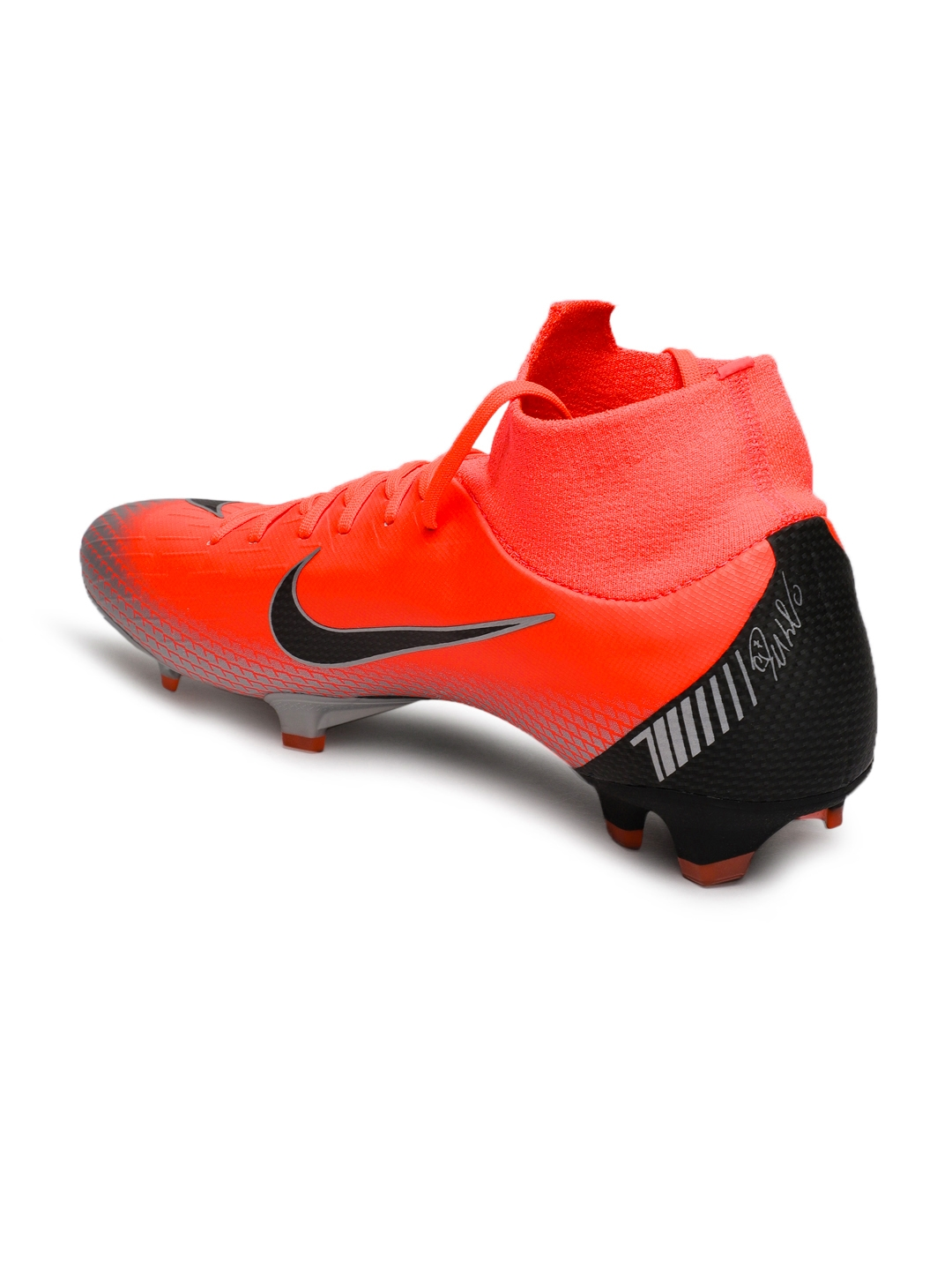 934487a38 Buy Nike Unisex Red   Black SUPERFLY 6 PRO CR7 FG Leather Football ...