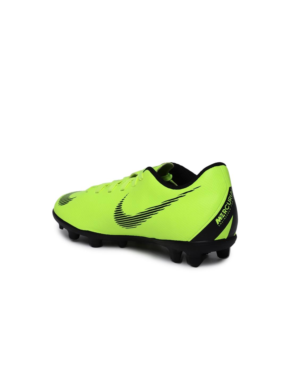 54b9fdf0a Buy Nike Unisex Fluorescent Green JR VAPOR 12 CLUB Football Shoes ...