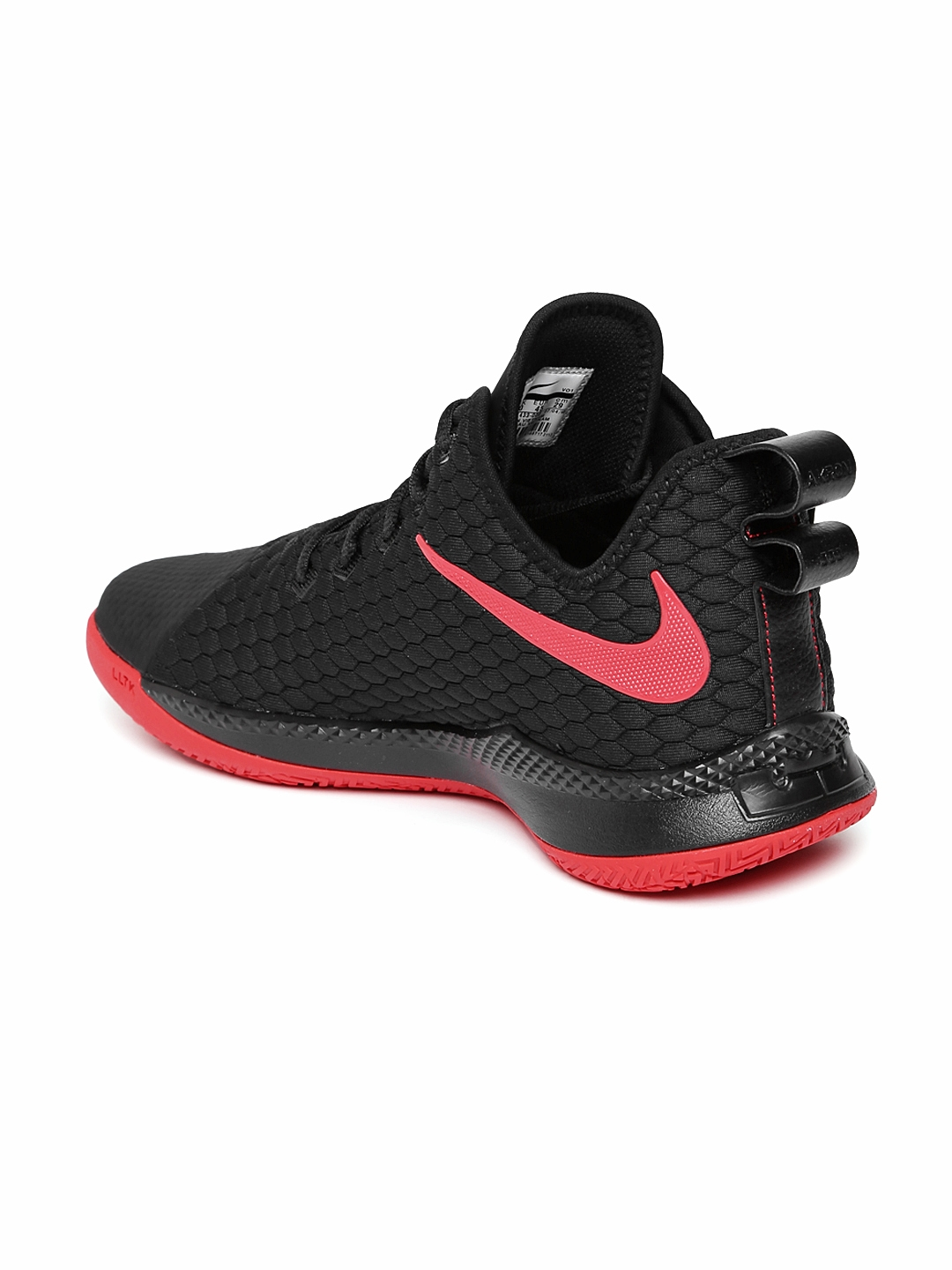 the latest 23fdf c0884 Nike Men Black Lebron Witness III Basketball Shoes