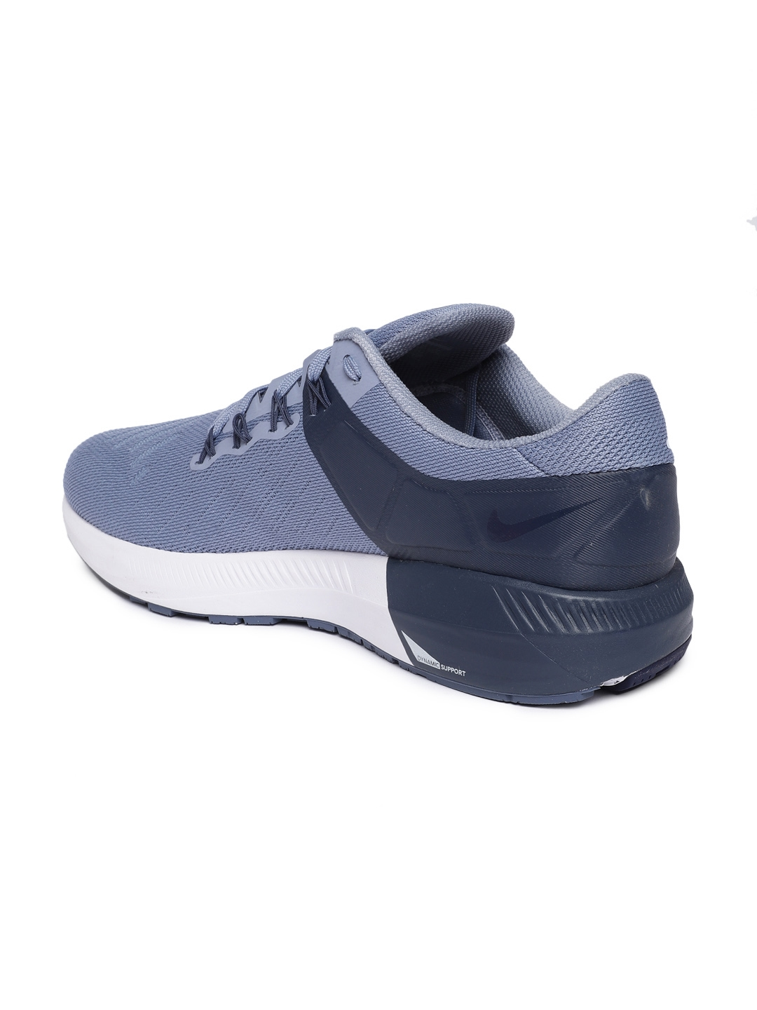 28e0df0560ccb Buy Nike Men Blue AIR ZOOM STRUCTURE 22 Running Shoes - Sports Shoes ...