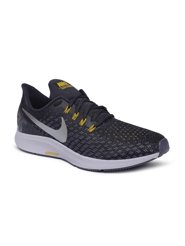 f892d7d814 Buy Nike Men Black AIR ZOOM PEGASUS 35 Running Shoes - Sports Shoes ...