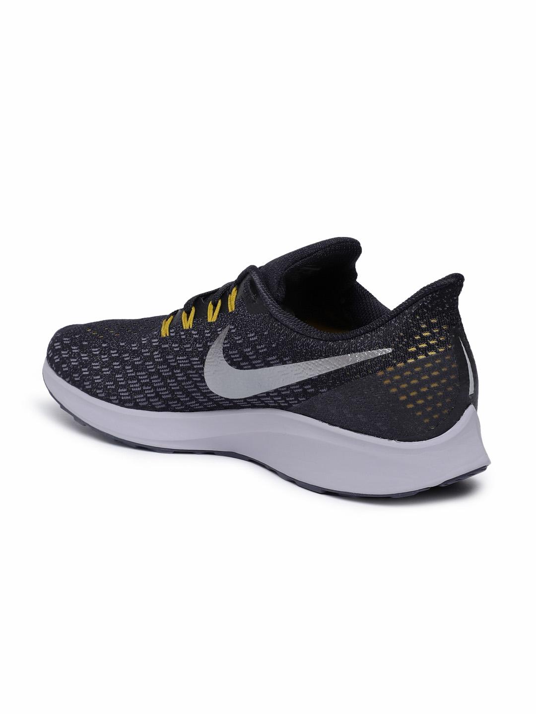 Buy Nike Men Black AIR ZOOM PEGASUS 35 Running Shoes - Sports Shoes ... 7e1430f783