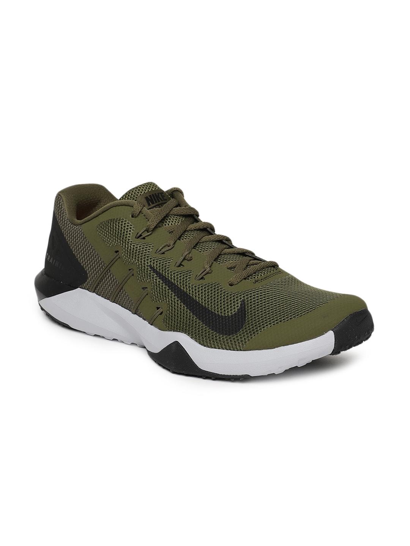 Nike Men Olive Green Retaliation TR 2