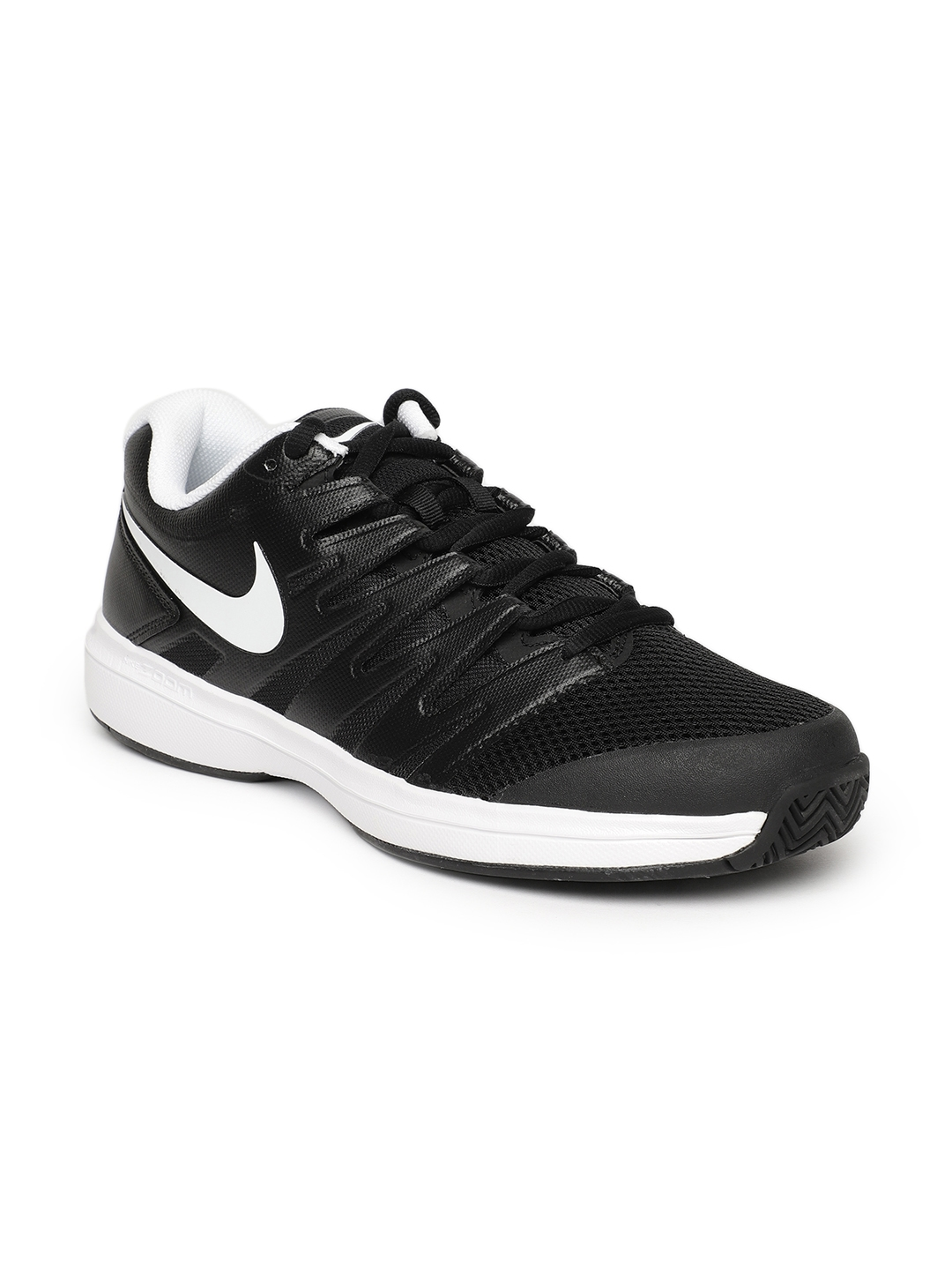 2b67808619c6 Buy Nike Men Black Solid AIR ZOOM PRESTIGE HC Tennis Shoes - Sports ...