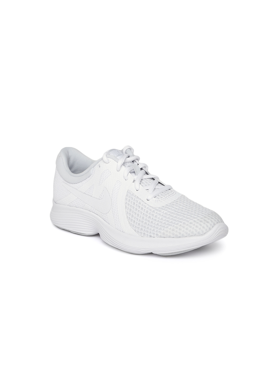 99c073354c9a Buy Nike Boys White REVOLUTION 4 (GS) Running Shoes - Sports Shoes ...