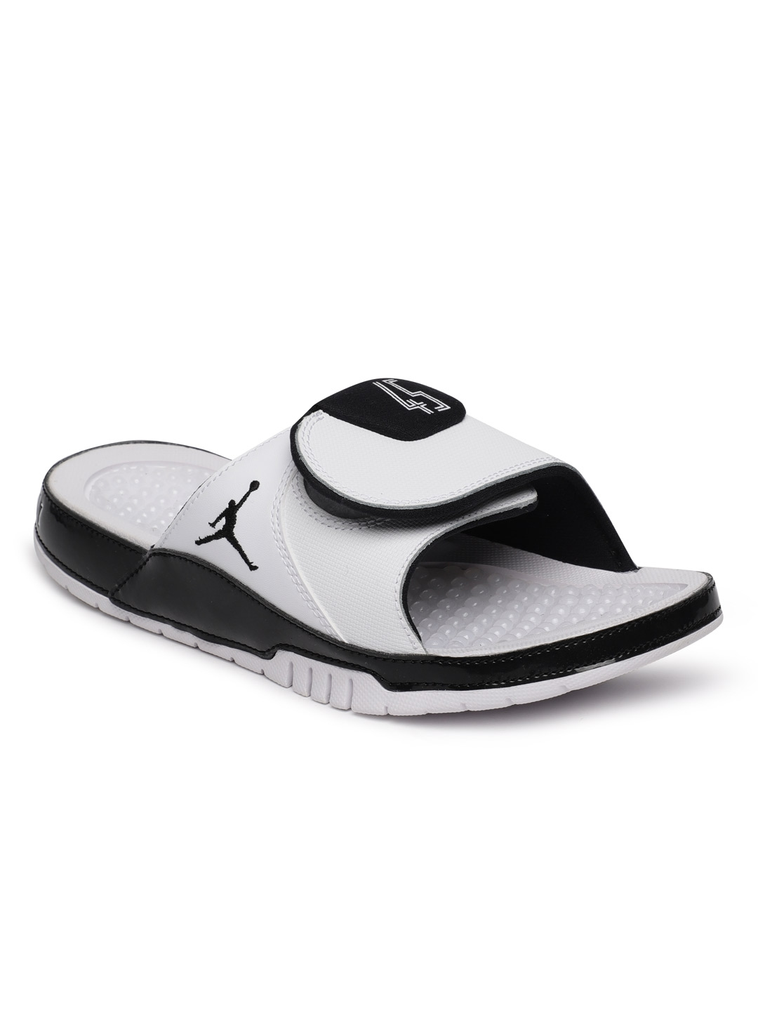 cd05a82b2 Buy Nike Men White JORDAN HYDRO XI RETRO Sliders - Flip Flops for ...