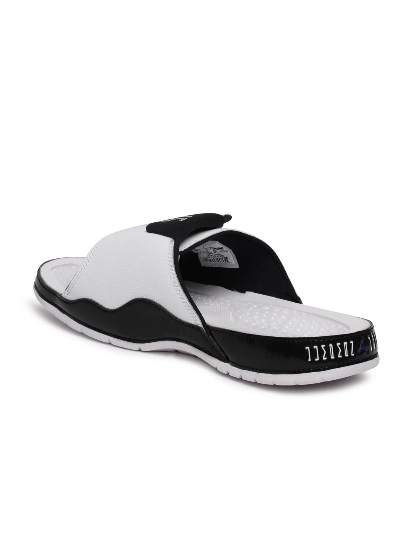 3dbed8b25e7f Buy Nike Men White JORDAN HYDRO XI RETRO Sliders - Flip Flops for ...