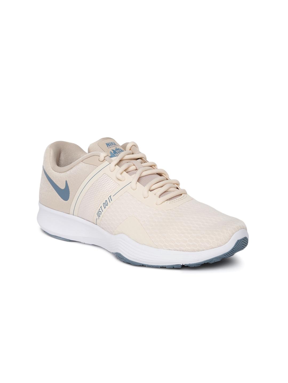 e1c9755bf9ac6 Buy Nike Women Beige City Trainer 2 Training Shoes - Sports Shoes ...