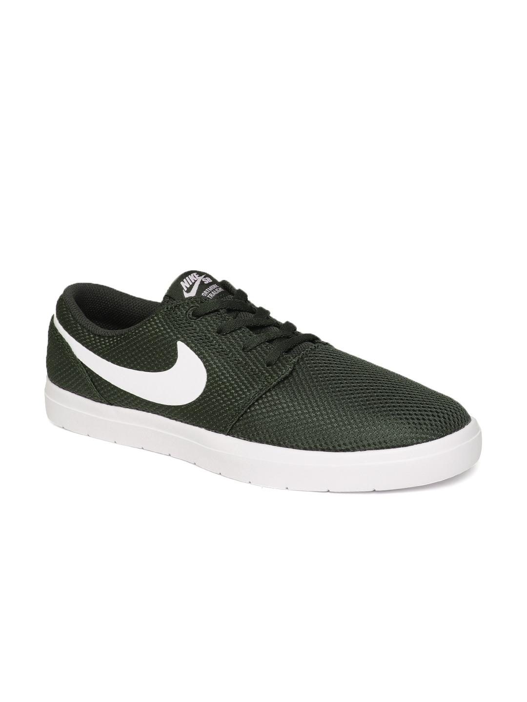 new style d558b 18433 Nike Unisex Green SB Portmore II Ultralight Sports Shoes