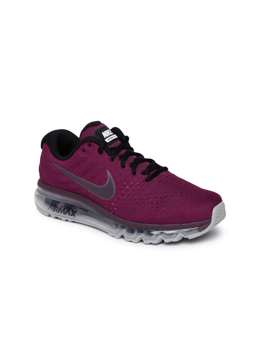 1938a051b42 Buy Nike Women Purple Air Max 2017 Running Shoes - Sports Shoes for ...