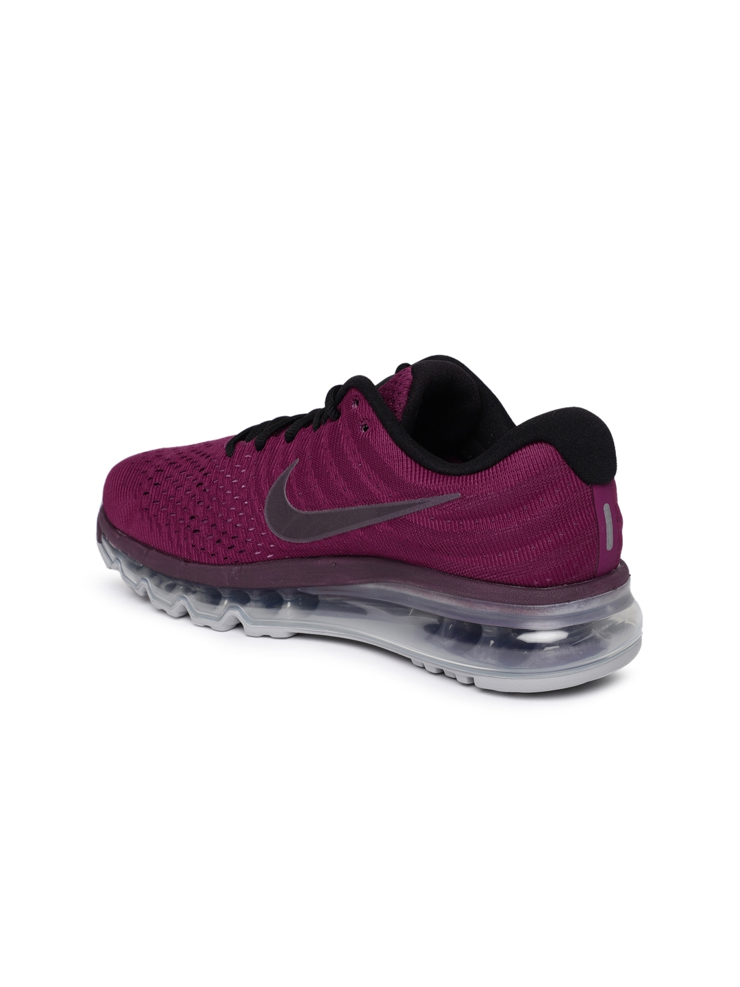 new product 903ee ee41f Nike Women Purple Air Max 2017 Running Shoes