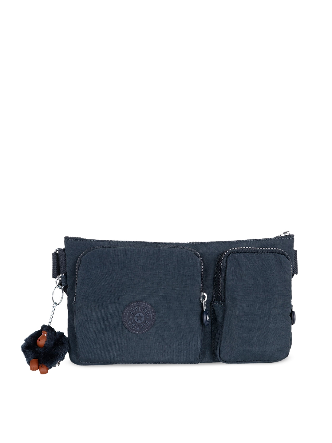 a055a1557cfc Buy Kipling Blue Solid Waist Pouch - Travel Accessory for Unisex ...