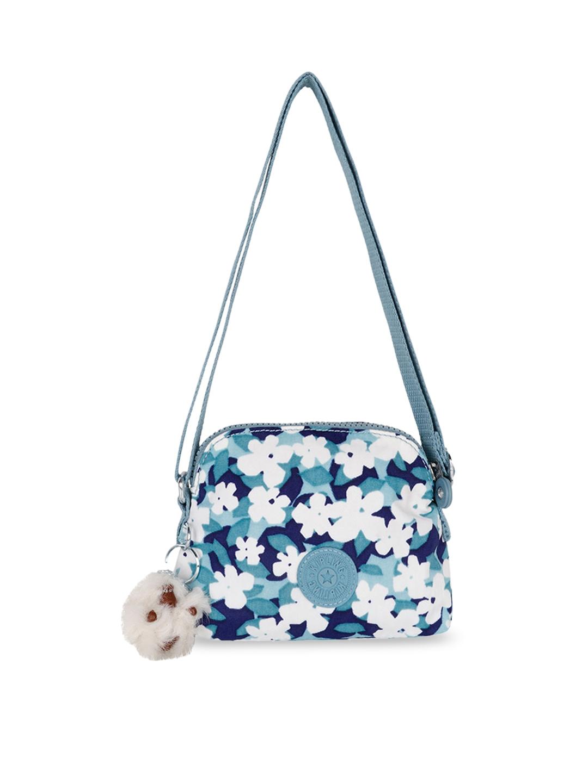 de618fc96bb Buy Kipling White Printed Sling Bag - Handbags for Women 7495697 ...