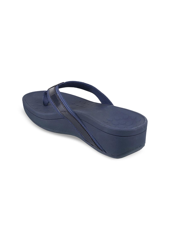 218221be1b5b Buy VIONIC Women Blue Solid Sandals - Heels for Women 7496533