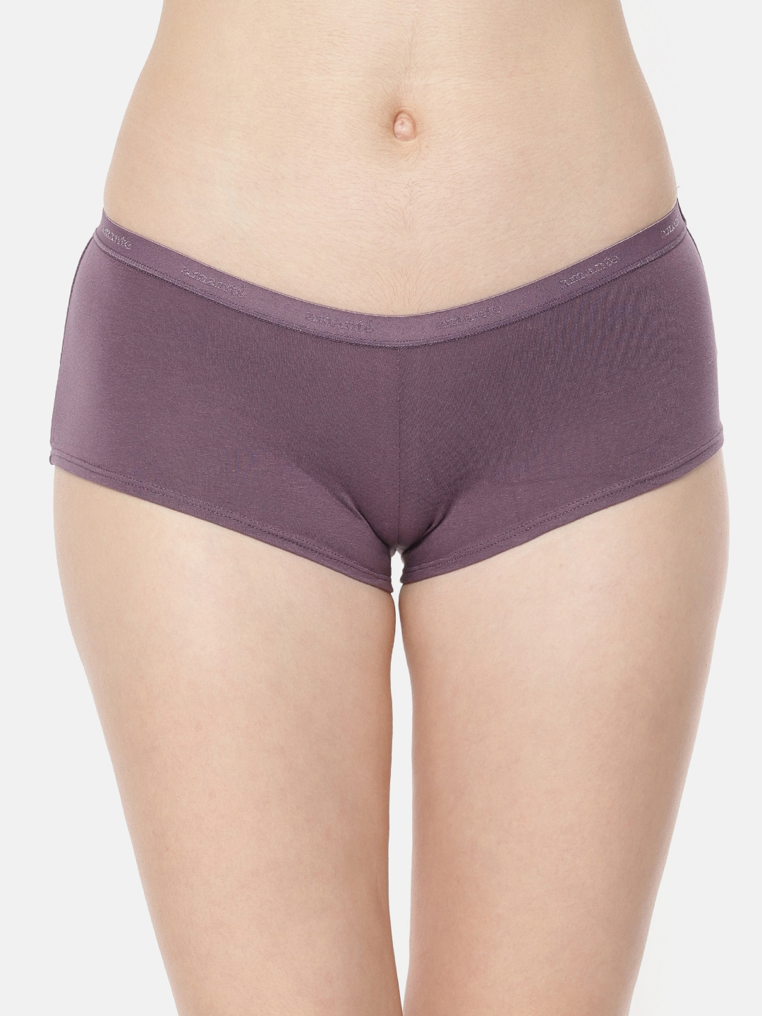 fdb9ef5a1c7d Buy Amante Women Pack Of 2 Solid Boyshorts PPK62001 - Briefs for ...