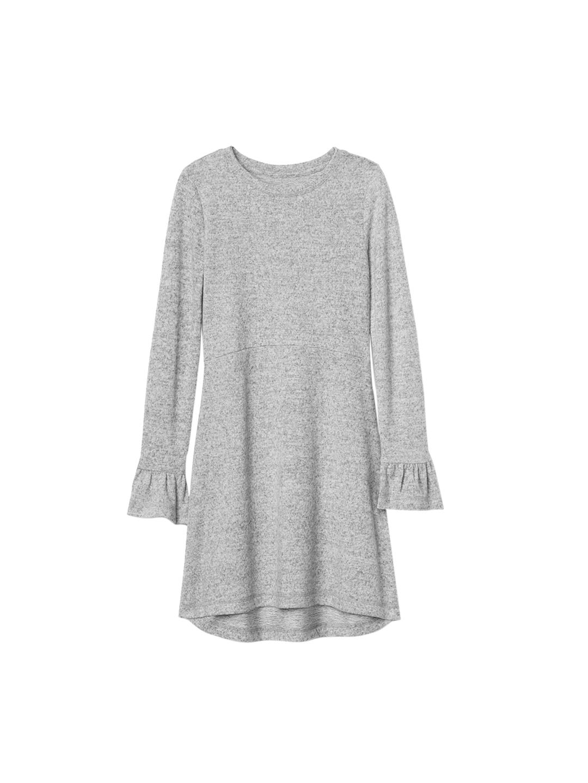 b8bdc51b4 Buy GAP Girls Grey Softspun Knit Bell Sleeve Dress - Dresses for ...