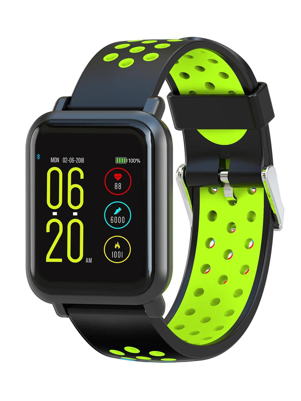 22a6e6713 Buy Noise Unisex Colorfit Pro Smartwatch Sport Green Black - Fitness ...