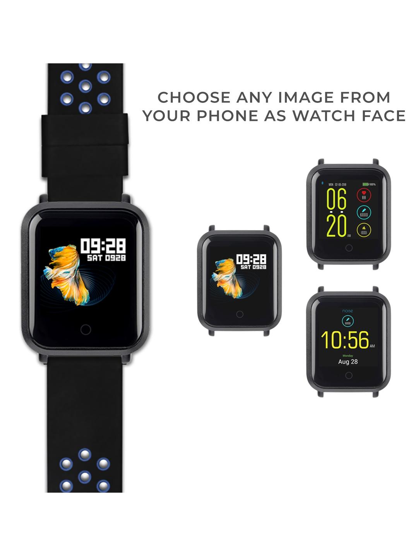 eda0b6584 Buy Noise Unisex Colorfit Pro Smartwatch Sport Blue Black - Fitness ...