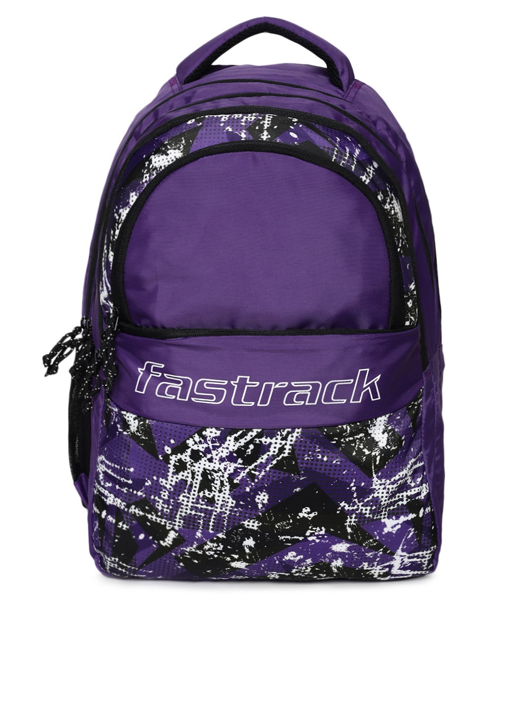 Fastrack Unisex Purple Graphic Backpack
