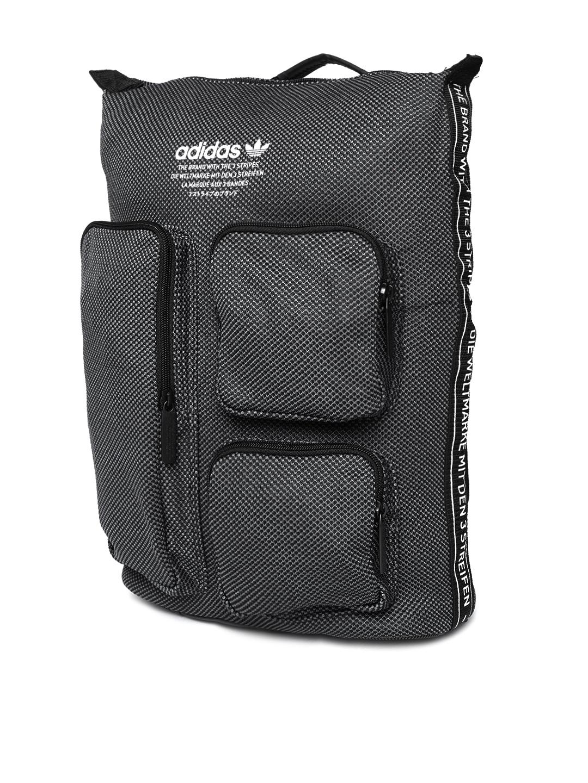 ba2e0d85a5 ADIDAS Originals Unisex Charcoal Grey NMD S Woven Design Backpack