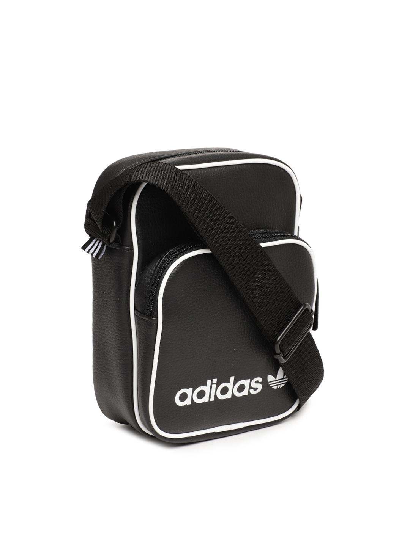 Buy ADIDAS Originals Black Solid Sling Bag - Handbags for Unisex ... 97fbc0700a036