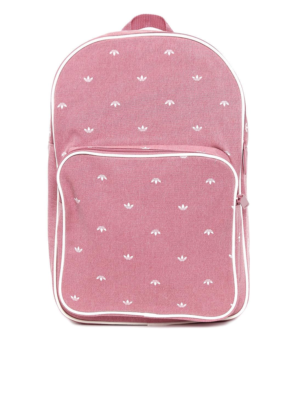 045a4479452 Buy ADIDAS Originals Unisex Pink BP Class TREF Printed Backpack ...