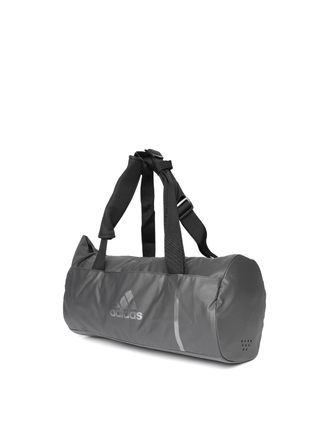 Buy ADIDAS Unisex Grey Convertible Training Duffle Bag Cum Backpack ... a77452043b8aa