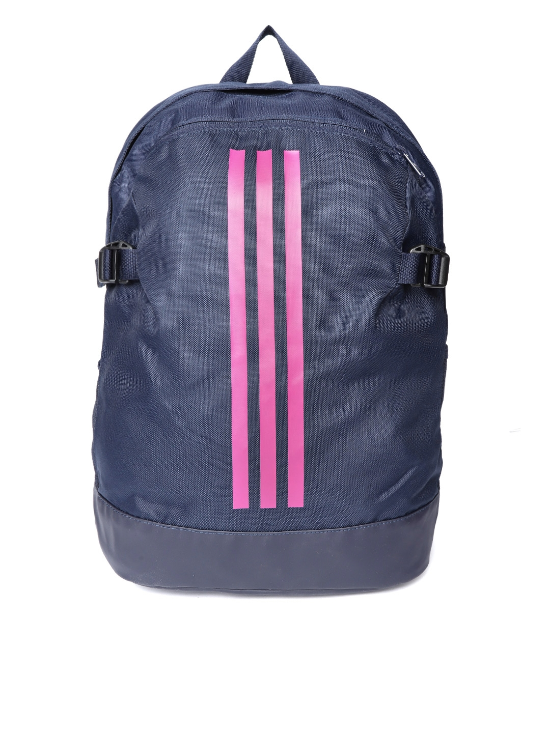 5b62a73a57c3 Buy ADIDAS Unisex Navy Blue Power IV M Striped Backpack - Backpacks ...