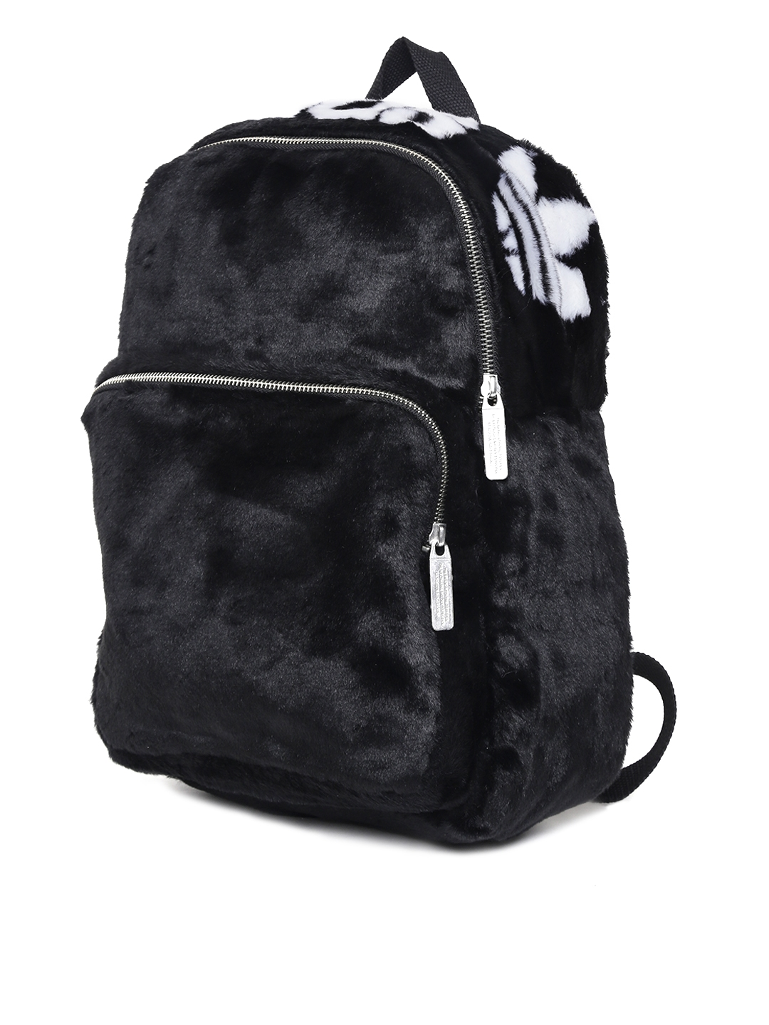 9a9e11a555d8 Buy ADIDAS Originals Unisex Black Classic S Faux Fur Backpack ...
