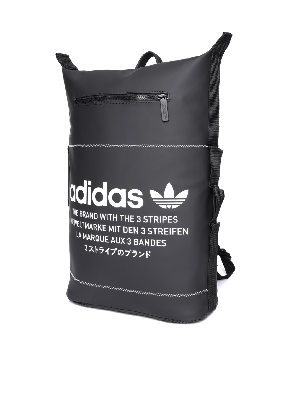 1491d333a Buy ADIDAS Originals Unisex Black NMD S Brand Logo Laptop Backpack ...